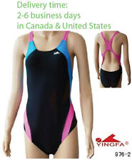 NWT Yingfa competition swimwear racing & training swimsuit  for girls 1 piece