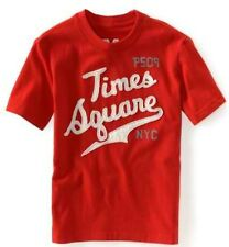 Red PS Aeropostale Aero NYC Boys Times Square Exclusive Graphic Tee XS S M L XL