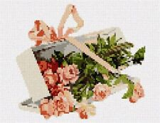 Box Roses Needlepoint Kit or Canvas (Floral/Flower/Nature)