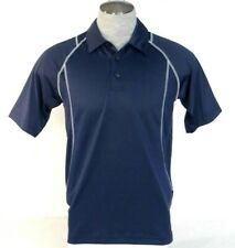 Adidas Golf ClimaCool Navy Blue Short Sleeve Polo Shirt Relaxed Fit Mens NWT