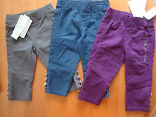 INFANT/BABY GIRLS COLORED JEANS   SIZES- 6-9 MONTHS & 12 MONTHS  NWT