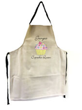 Personalised Adults Chocolate Cherry Cupcake Cup Cake Queen Apron Christmas Gift