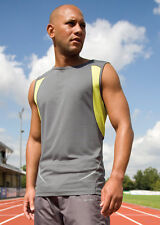 Men's running vest by Spiro! Perfect for jogging and other sports!