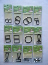 Clover  Bag & Purse Accessories D-Rings-O-Rings, Swivell Latch, Bag Feet 9530-53