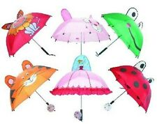 Childrens Novelty Umbrella 6 designs to choose from