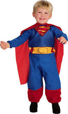 Baby Superman Fancy Dress Superhero Infant Toddler Costume Ages 6-12 M & 1-2 Y