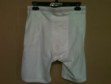 Adams 677 Adult 5 Pocket Support Football Girdle, White