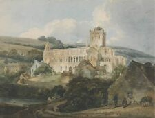 Photo Print Reproduction Jedburgh Abbey From South East Thomas Girtin Othe