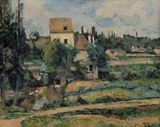 Photo Print Reproduction Mill On Couleuvre At Pontoise Paul Cezanne Other