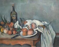 Still Life With Onions Paul Cezanne 1898 Art Photo/Poster Repro Print Many Size