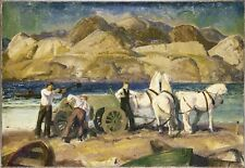 Sand Cart George Wesley Bellows 1917 Art Photo /Poster Repro Print Many Sizes