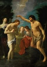 Photo Print Reproduction Baptism Of Christ Guido Reni Other Sizes Avail