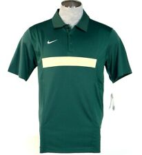 Nike Dri Fit Green Short Sleeve Polo Shirt Mens NWT