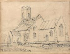 Brampton Church Norfolk From South East John Sell Cotman 1816 Art Poster/Photo