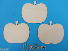 PUMPKIN / APPLE~ Wooden laser cut blanks to decorate ~ other shapes available