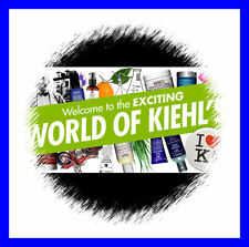 Brand New Kiehl's Kiehls Skincare Deluxe Samples & Travel Sizes