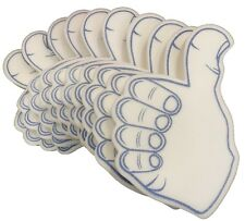 Thumbs Up Outline Printed  Foam Hands Pack Of Ten