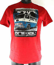 ANIMAL - RETRO CAMPER VAN PRINT T Shirt (Chilli Pepper) Med - XXL