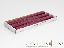 "10"" Taper Candles (set of 6) - Choose From 9 Colors"