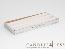 """10"""" Taper Candles (set of 6) - Choose From 9 Colors"""