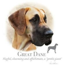 Dog Owner Tshirt Great Dane Face Cute White Friend Pet Paw Canine Puppy Walk