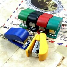 A0444 x UPICK Color Tool Office Supplies Staple Mini Keychain Key Ring Gift Bag