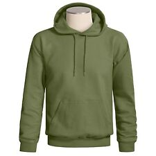 Hanes Cotton Rich Pullover Hoodie Unisex 2XL 3XL pine green or wine NEW $24