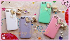 LUXURY 3D I LOVE YOU CRYSTAL DIAMOND CASE BLING HARD COVER FOR IPHONE4/4S/5