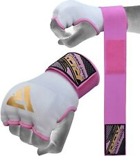 RDX Ladies Gel Inner Hand Wraps Gloves Boxing Fist Pink Bandages MMA Women Gym