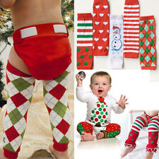 Holiday Christmas Xmas Children Child Legging Warmer Tight Socks Girl/Boy New US