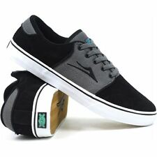 Lakai CARLO SELECT Men's Skate Shoe Black/Grey SUEDE All Sizes HOT !!  NEW