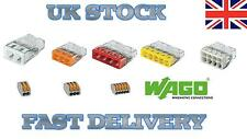 WAGO 2273 222 - 2-8 way pole lever cable connector pushfit terminal block JST