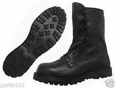 Rocky Combat Boots Gore-Tex Intermediate Cold/Wet Water Proof Black Leather NIB