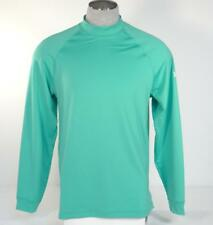 Under Armour Golf All Season Gear Moisture Wick Green Long Sleeve Shirt Mens NWT