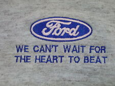 Ford WE CAN'T WAIT FOR THE HEART TO BEAT Tank Top Hot Rod Racing Not T-Shirt