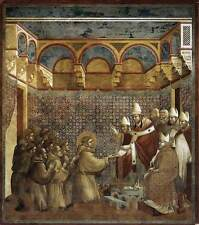 Photo Print Legend of St Francis: 7. Confirmation of the Rule Giotto Di Bondone