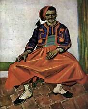 Photo Print Portrait of Lieutenant Milliet (The Zouave) Gogh, Vincent Van - in v