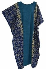 FIJI Cotton Kaftan Ladies Long Beach Cover Up Soft Cool Dress Wear Amazing New