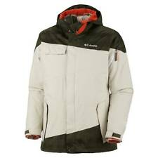 Columbia Hells Mountain Jacket Parka Winter Waterproof Interchange 3 in 1 Mens