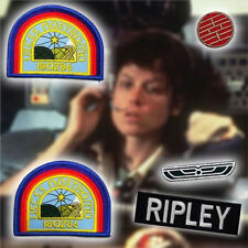 ALIEN / ALIENS Nostromo Officer Patch Set (RIPLEY) - Set of 5 Shirt Patches NEW