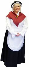 WELSH LADY TRADITIONAL FANCY DRESS COSTUME ST DAVIDS DAY  ALL PLUS SIZES 18-40