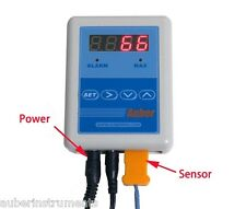 Thermometer for Stove Pipe, Chimney with Remote Alarm