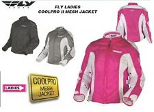 FLY RACING Ladies Cool Pro 2 Motorcycle Pink Jacket Females Riding Mesh Harley