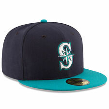New Era 5950 SEATTLE MARINERS Alternate Cap 5950 Fitted MLB Baseball Hat Navy