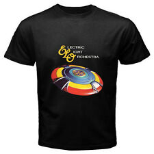 New ELECTRIC LIGHT ORCHESTRA ELO Band *Very Best Logo Black T-Shirt Size S-3XL