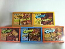 NEW IN BOX MEAL MART AMAZING MEALS SHELF-STABLE HEAT & SERVE MICROWAVEABLE MEALS