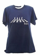 The Beatles Abbey Road Navy Blue Adult's T-Shirt