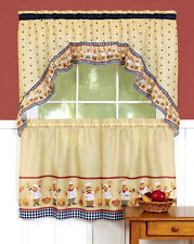 Cucina™ Kitchen Curtain Tier and Swag Set By Achim Importing Co.™
