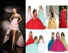 Prom/Ball/Evening dress Bridal GOWN UK SIZE 4,6,8,10,12,14,16 bridesmaid Dresses