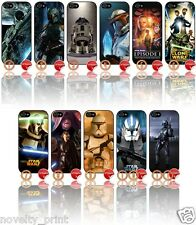 ★ STAR WARS ★ APPLE IPHONE 5  MOBILE PHONE HARD CASE COVER (STARWARS)